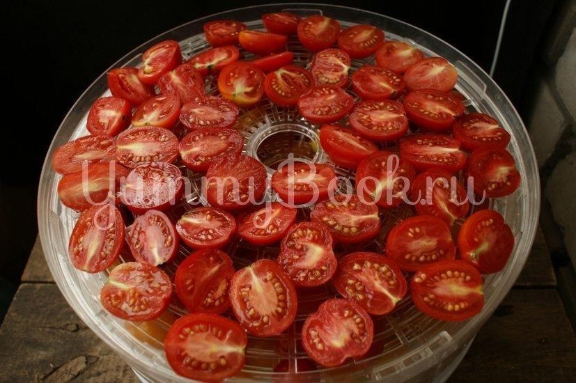 Вяленые помидоры в электросушилке - шаг 2