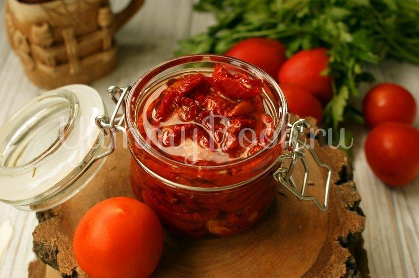 Вяленые помидоры в электросушилке - шаг 6