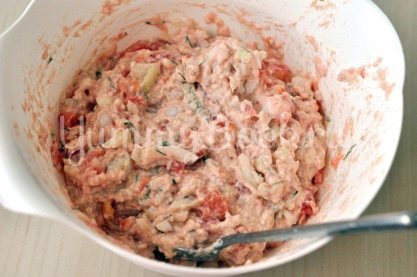 Греческие томатные котлеты Доматокефтедес с Цацики - шаг 6