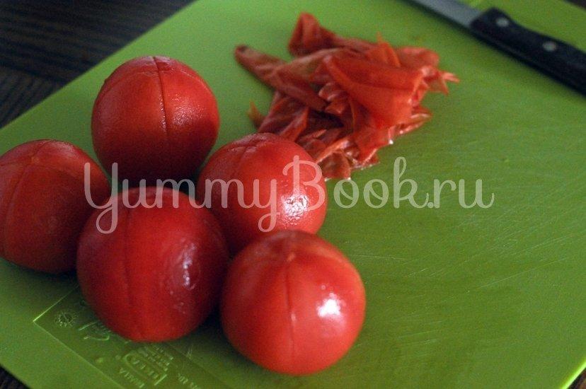 Греческие томатные котлеты Доматокефтедес с Цацики - шаг 2