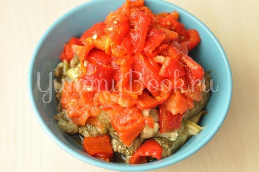 Салат из печеных овощей - шаг 3