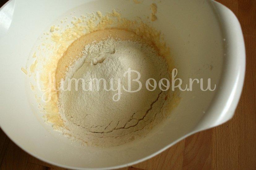 Яблочный кекс с кунжутом - шаг 5