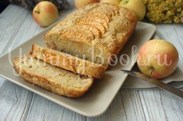 Яблочный кекс с кунжутом - шаг 9
