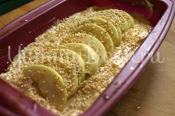 Яблочный кекс с кунжутом - шаг 7