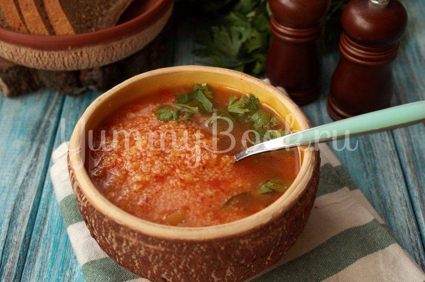 Томатный суп с кускусом и чечевицей - шаг 7