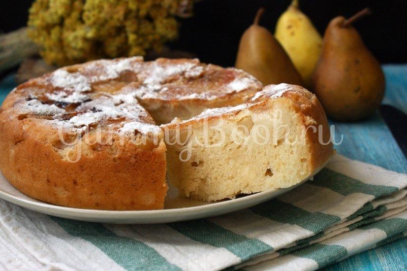 Пирог с грушами на кефире в мультиварке - шаг 5