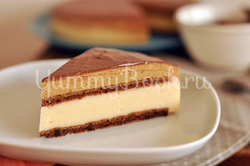 """Муссовый торт """"Кофе с карамелью"""" - шаг 18"""