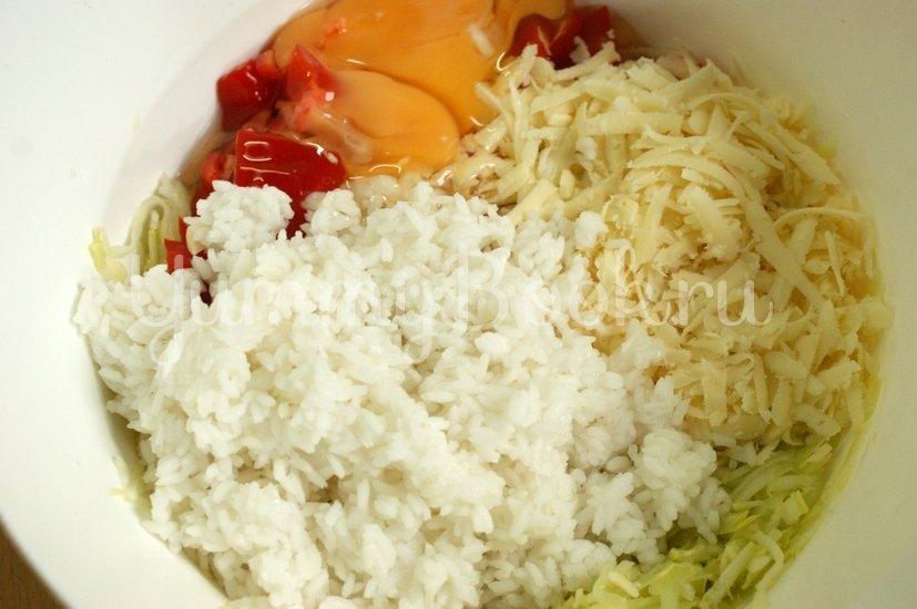 Запеканка из кабачков и риса в мультиварке - шаг 4