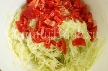 Запеканка из кабачков и риса в мультиварке - шаг 3