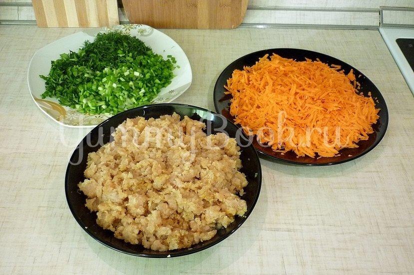 Фаршированные перцы без риса - шаг 1