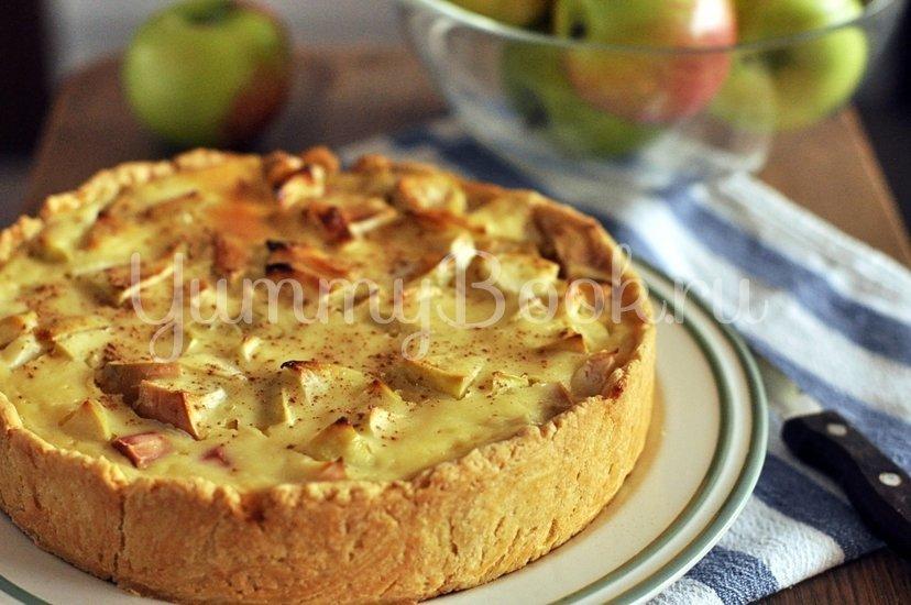 Яблочный тарт с ревенем - шаг 10