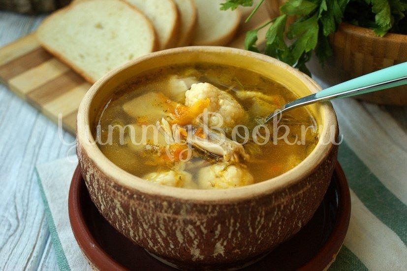 Суп с сырными клёцками - шаг 8