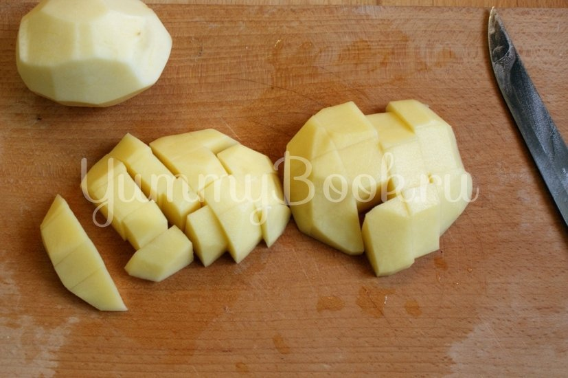 Суп с сырными клёцками - шаг 2