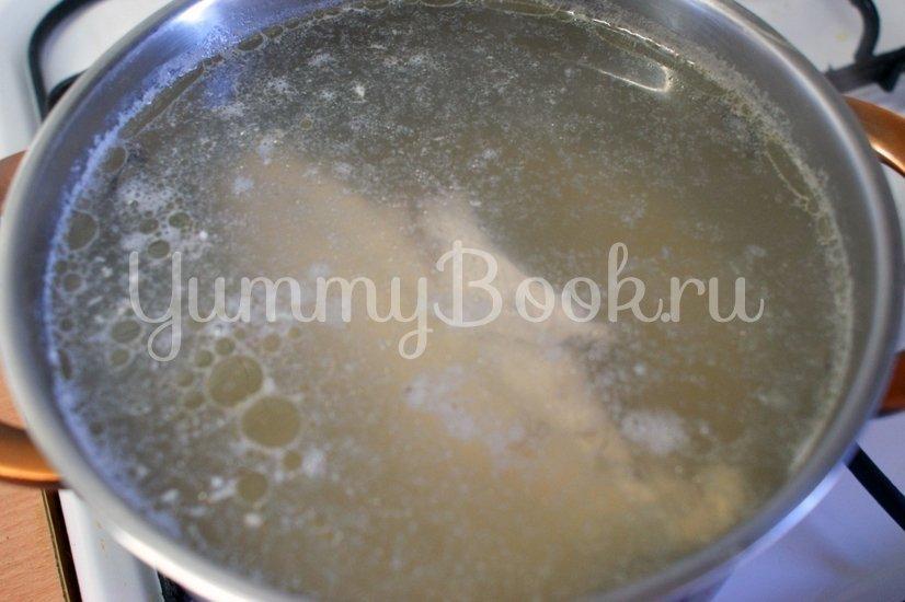 Суп с сырными клёцками - шаг 1