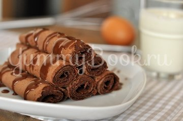 Шоколадные блины - шаг 5