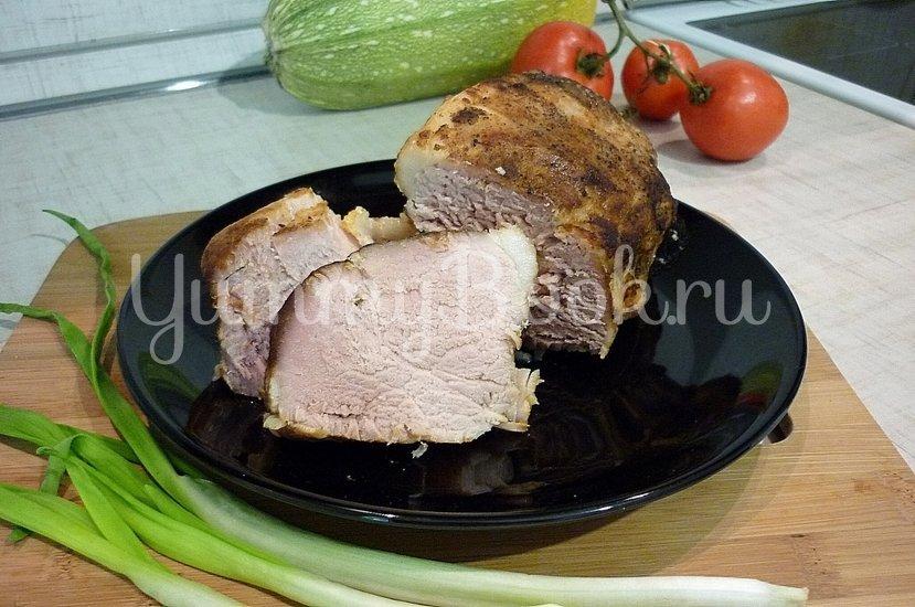 Запечённая свинина с луково-яблочным соусом - шаг 13
