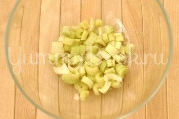 Салат овощной с грибами - шаг 1