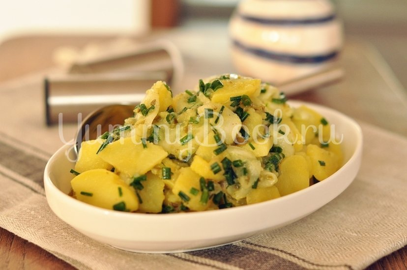 Немецкий картофельный салат (Kartoffelsalat) - шаг 6