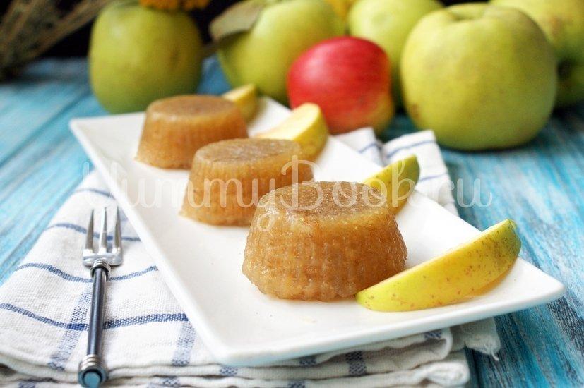 Яблочный мармелад на желатине - шаг 6