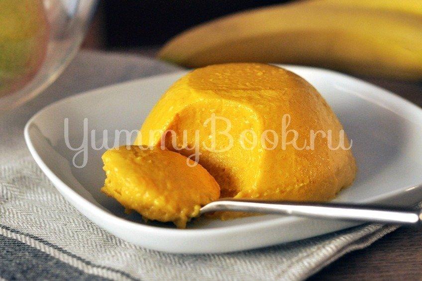 Тыквенный десерт с медом
