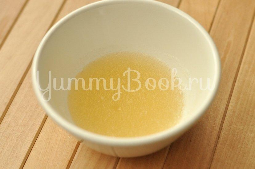 Тыквенный десерт с медом - шаг 2