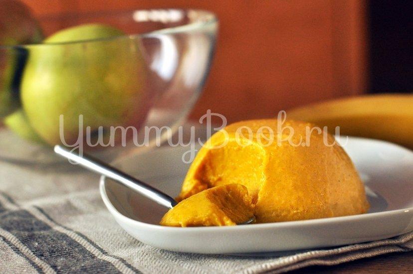 Тыквенный десерт с медом - шаг 8