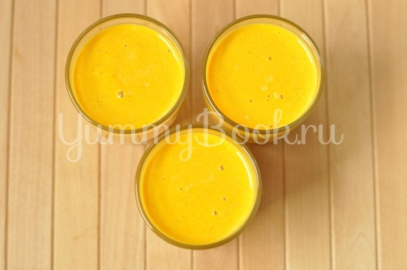 Тыквенный десерт с медом - шаг 7