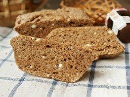 Хлеб без муки в микроволновке