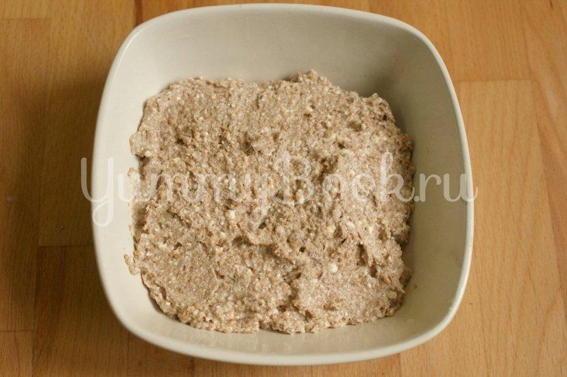 Хлеб без муки в микроволновке - шаг 3