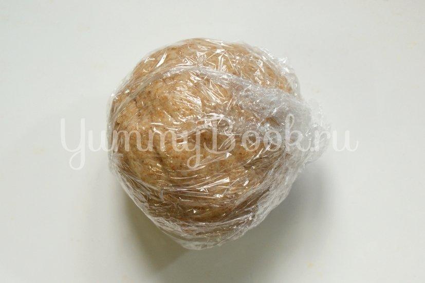 Галета из цельнозерновой муки с яблоками - шаг 2