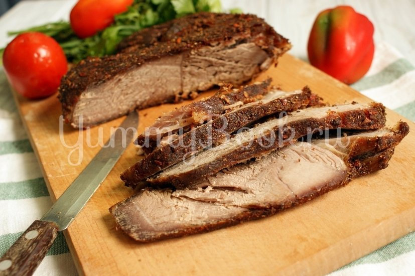 Пастрома из говядины в маринаде - шаг 6