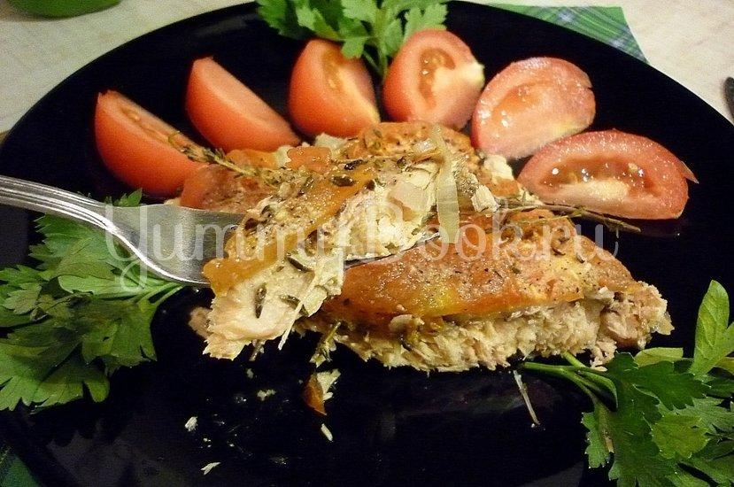 Филе горбуши, запечённой с тимьяном - шаг 9