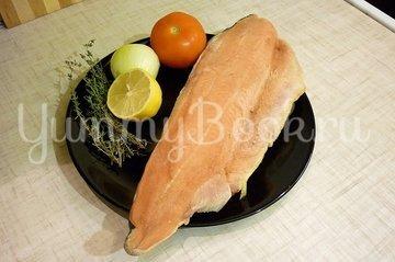 Филе горбуши, запечённой с тимьяном - шаг 1