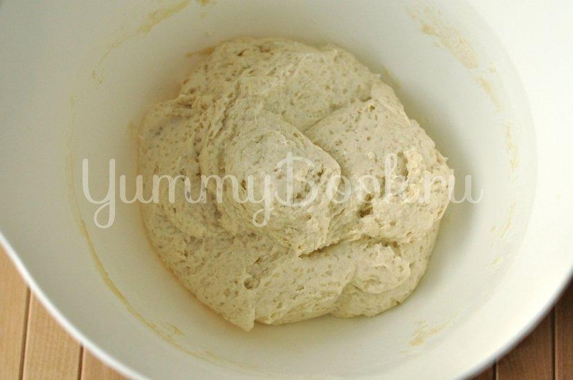 Пирог с консервированными персиками - шаг 3