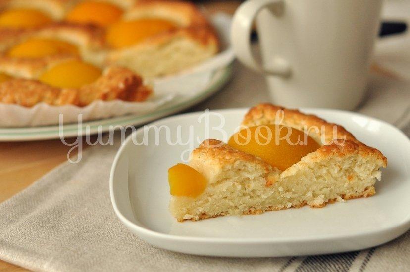 Пирог с консервированными персиками - шаг 6