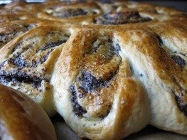 Турецкий маковый пирог