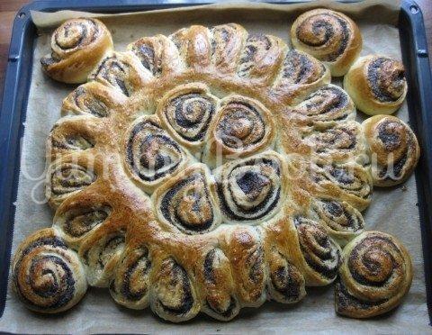 Турецкий маковый пирог - шаг 12