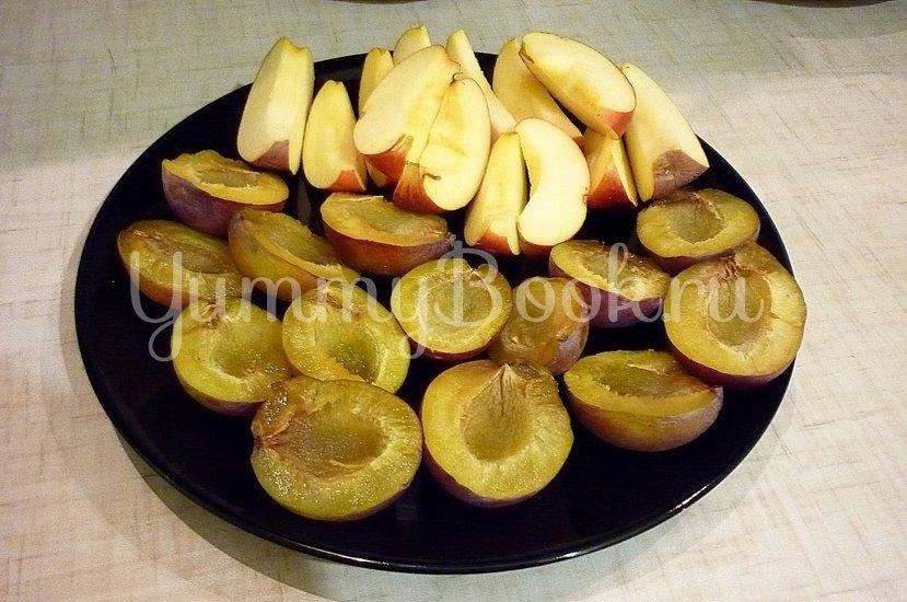 Утка, запечённая со сливами и яблоками - шаг 2
