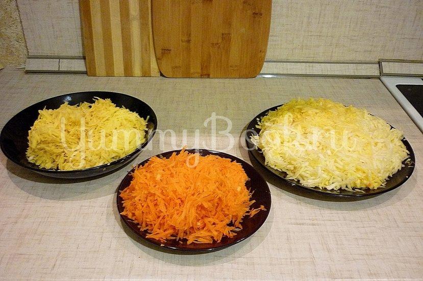 Кабачково-картофельные котлетки с морковью - шаг 3