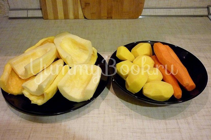 Кабачково-картофельные котлетки с морковью - шаг 2
