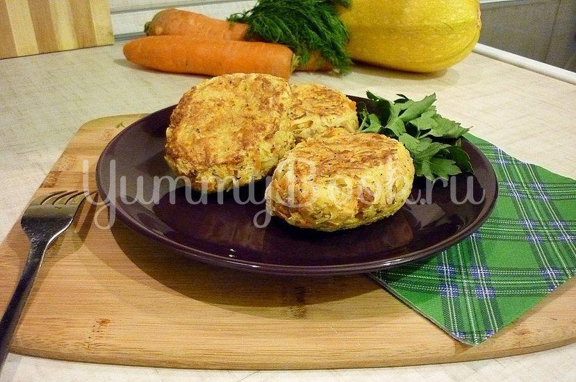Кабачково-картофельные котлетки с морковью - шаг 11
