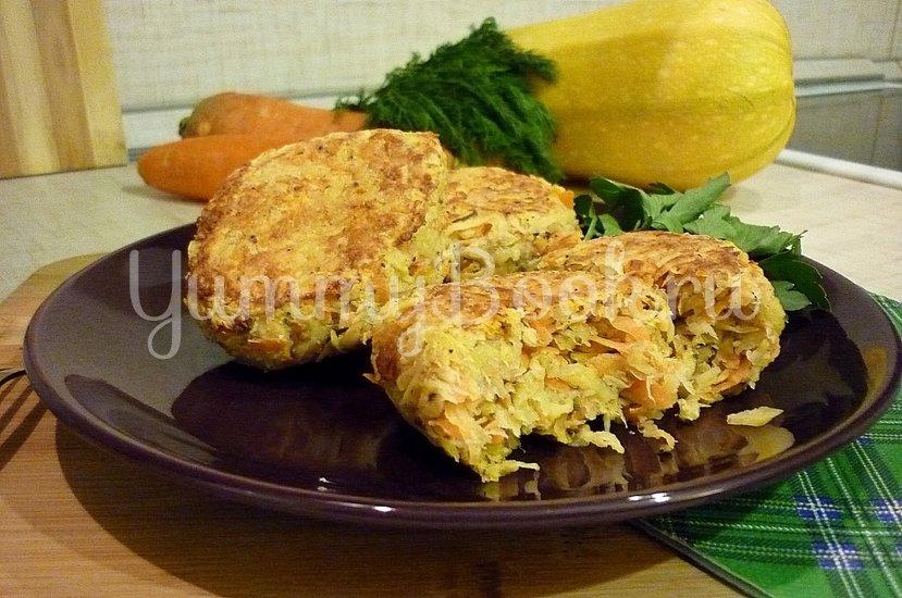 Кабачково-картофельные котлетки с морковью - шаг 12