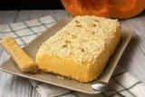 Тыквенный мусс с печеньем Савоярди