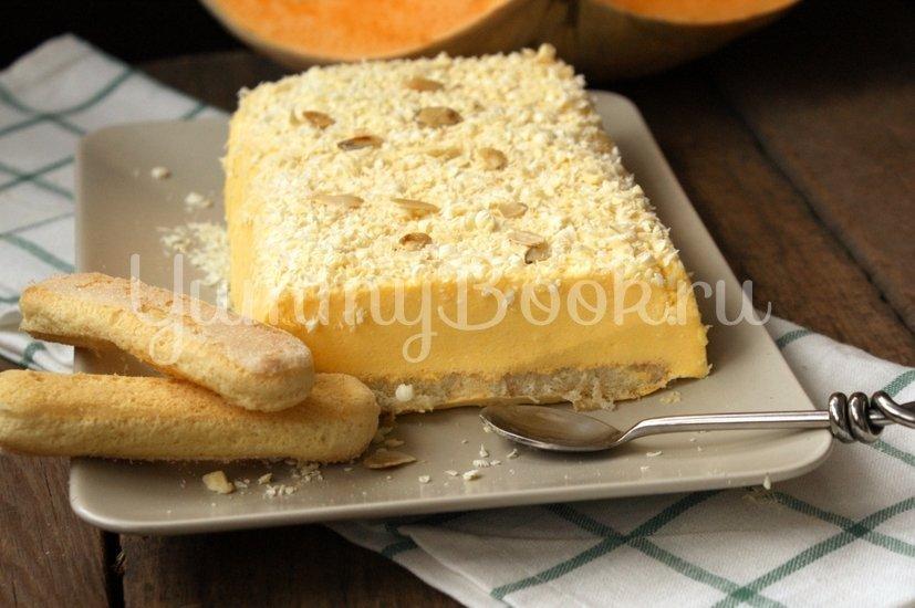 Тыквенный мусс с печеньем Савоярди - шаг 9