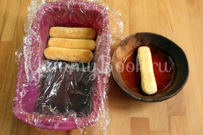Тыквенный мусс с печеньем Савоярди - шаг 7