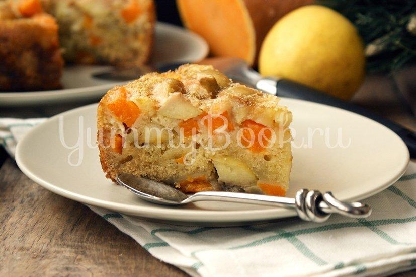 Шарлотка с тыквой и яблоками в мультиварке - шаг 7