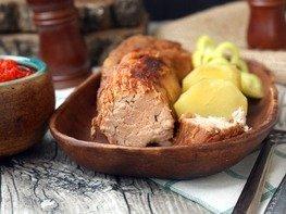 Свинина с мёдом запечённая  в маринаде