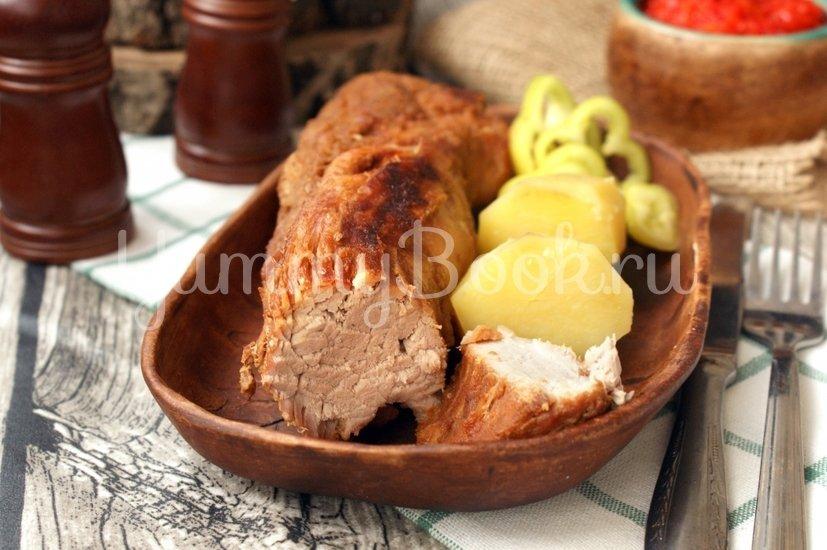 Свинина с мёдом запечённая  в маринаде - шаг 4