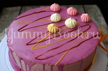 Муссовый клубничный торт - шаг 16
