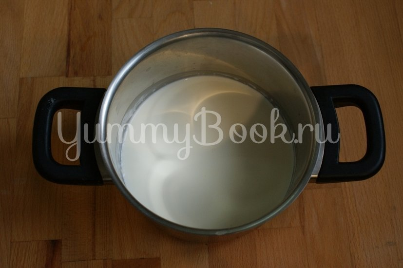 Глазурь на белом шоколаде - шаг 2